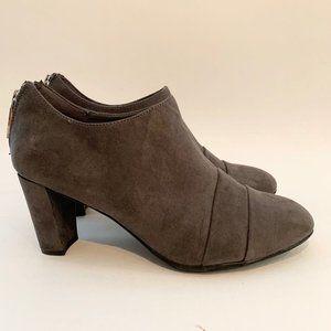 Areosole 7W Tavern Grey Suede Heels Shoes EU